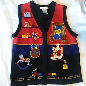 Victoria Jones Ugly Christmas Sweater Vest